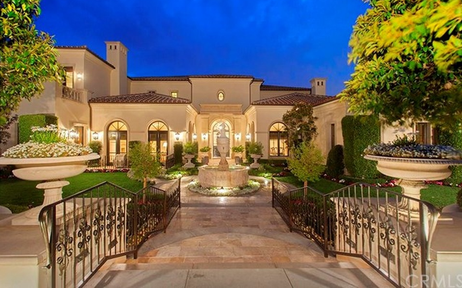 $24.999 Million French Inspired Mansion In Newport Coast, CA