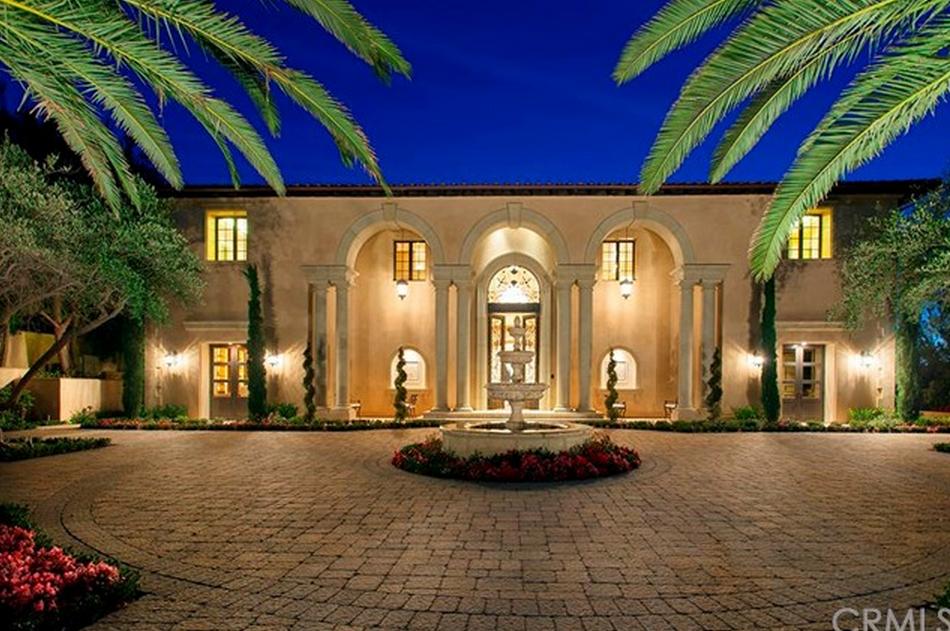 $23.888 Million Mediterranean Mansion In Newport Coast, CA