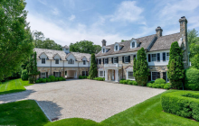 $7.8 Million Georgian Colonial Mansion In Greenwich, CT