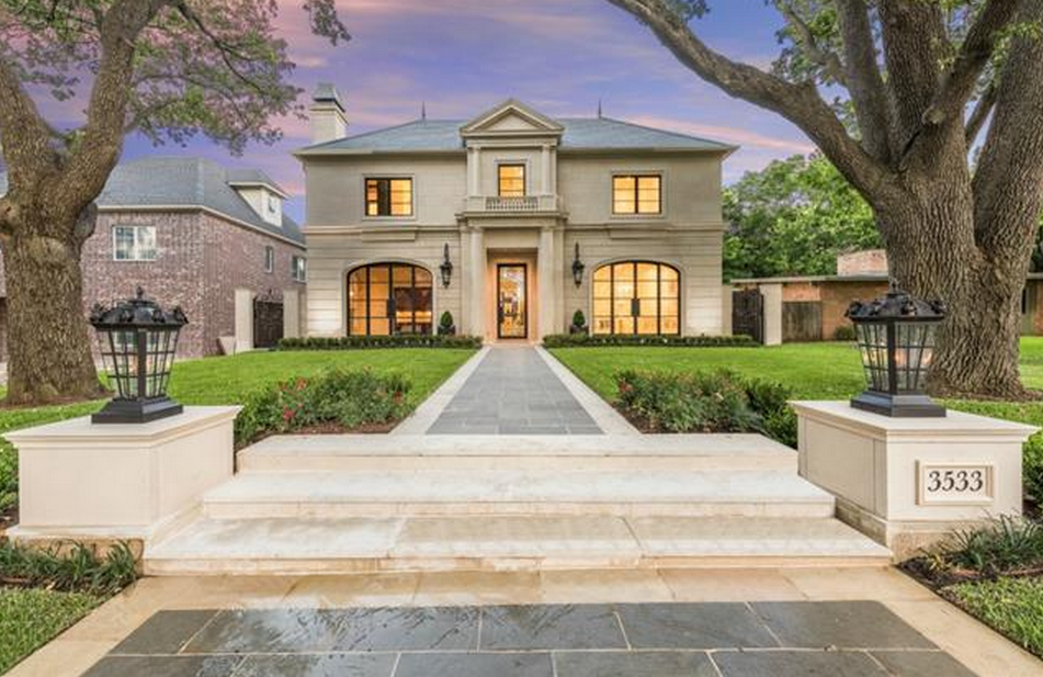 3295 Million Newly Built French Inspired Home In University Park TX