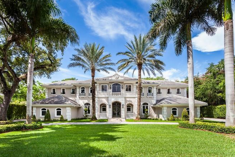 4 7 million newly listed mansion in pinecrest fl homes