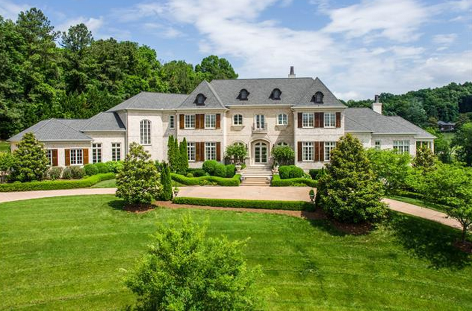 $3 86 Million Brick Mansion In Nashville TN