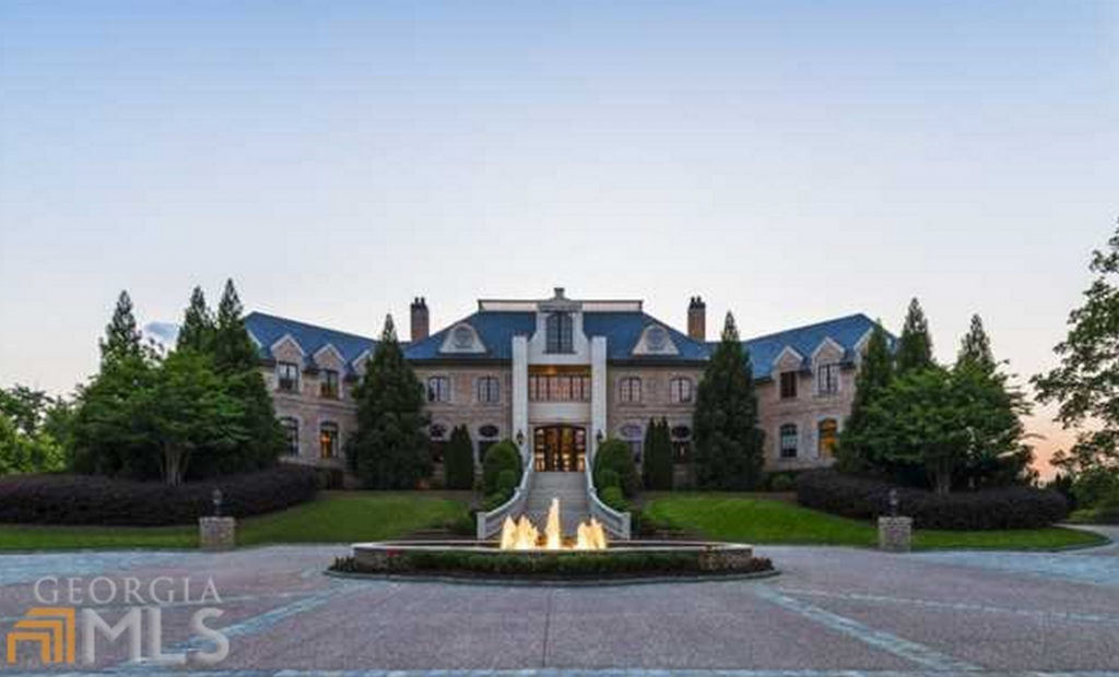 Tyler perry lists his 34 000 square foot atlanta mega for Mega mansion for sale