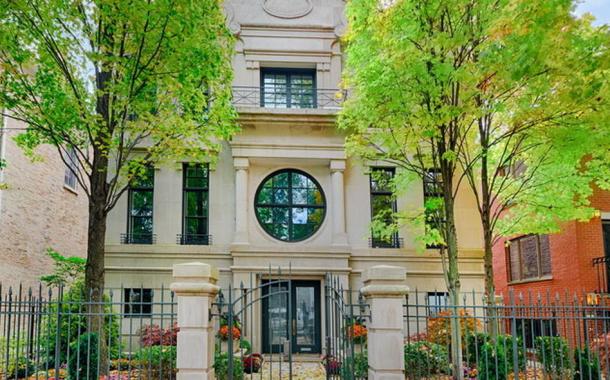 $5.125 Million Limestone Home In Chicago, IL