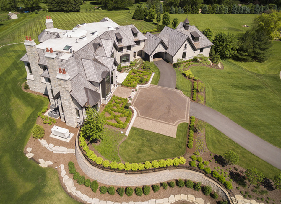 21 000 Square Foot Mansion In Naperville Il Homes Of