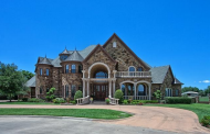 $2.695 Million Stone Mansion In Southlake, TX