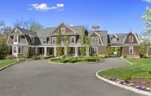 $3.75 Million Shingle & Stone Mansion In Ridgefield, CT