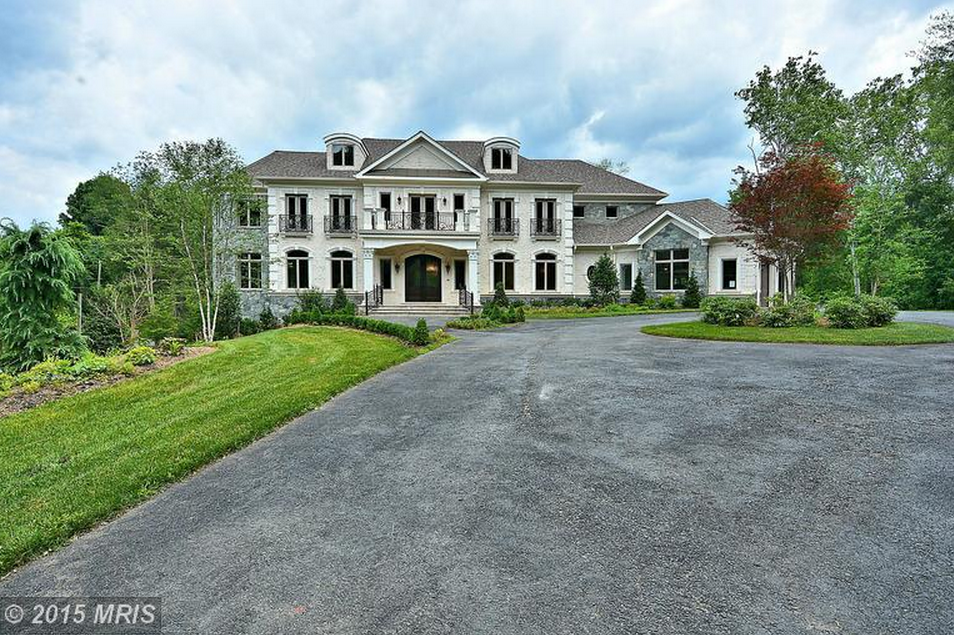 11,000 Square Foot Newly Built Brick & Stone Mansion In Great Falls, VA