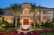 $2.49 Million Mediterranean Lakefront Mansion In Wellington, FL