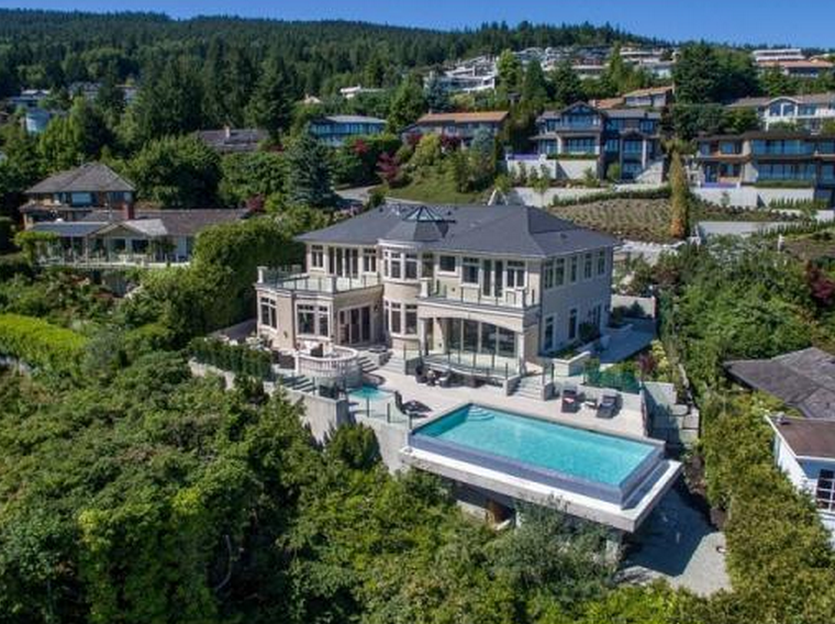 10 68 Million Newly Built Home In West Vancouver Canada