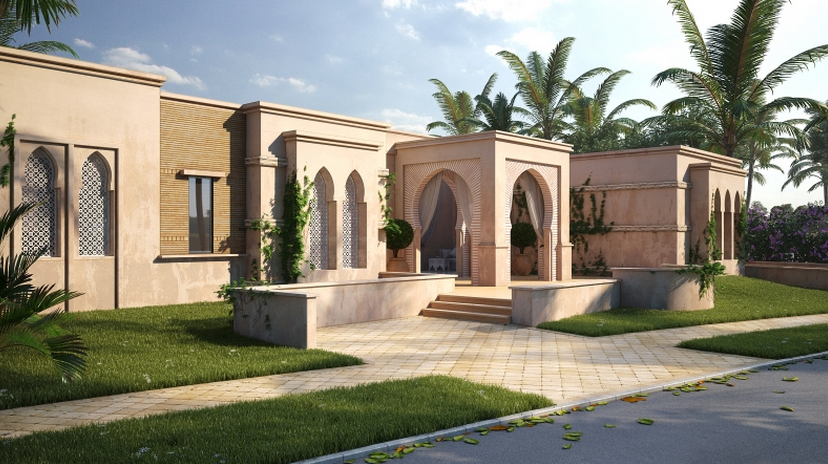21 000 Square Foot Mansion Under Construction In Caesarea
