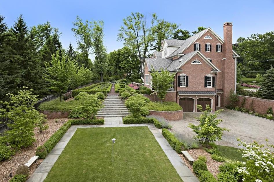4 6 Million Georgian Colonial Brick Mansion In Ridgefield