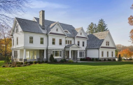 10,000 Square Foot Newly Built Stone & Shingle Colonial Mansion In Westport, CT