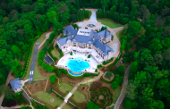 Video Of Tyler Perry's $25 Million 34,000 Square Foot Atlanta Mega Mansion!