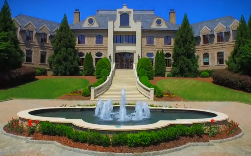 Some Stills From The Video Of Tyler Perry's $25 Million Atlanta Mega Mansion!