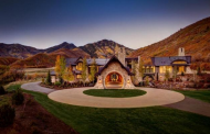 22,500 Square Foot Newly Built Mountaintop Stone Mansion In Provo, UT