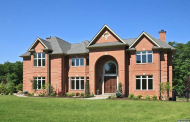 $4.895 Million Newly Built Brick Mansion In Alpine, NJ