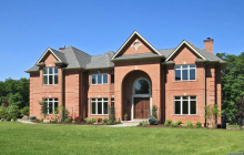 $4.895 Million Newly Built Brick Mansion In Alpine, NJ