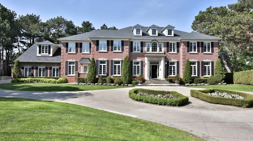 10 000 square foot brick georgian mansion in toronto for 10000 square feet building