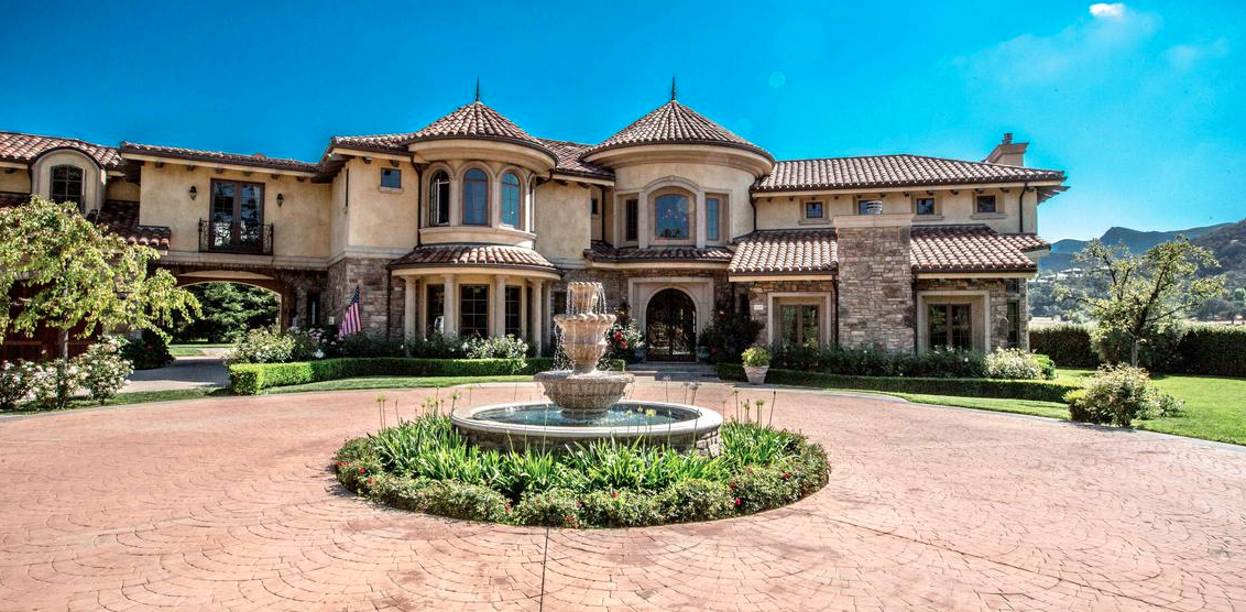 Villa Lago – A $6.995 Million Mediterranean Home In Thousand Oaks, CA