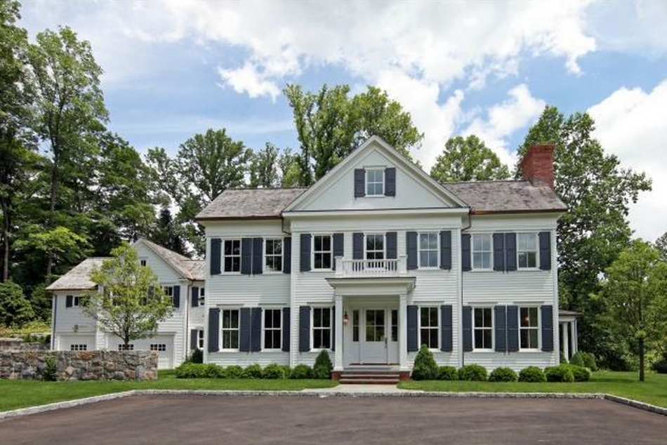 $6.495 Million Newly Built Traditional Colonial Mansion In Greenwich, CT