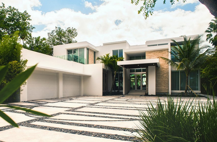 32 Million Newly Built Modern Waterfront Mansion In Miami