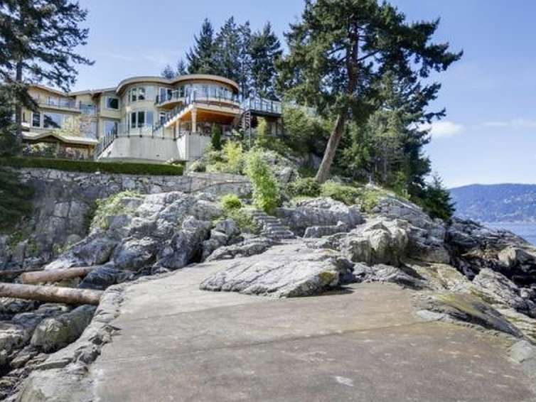 $23 Million Newly Built Oceanfront Mansion In West Vancouver, Canada