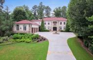 $4.295 Million Brick & Stone Mansion In Atlanta, GA
