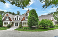 12,000 Square Foot Stone & Shingle Mansion In Franklin Lakes, NJ
