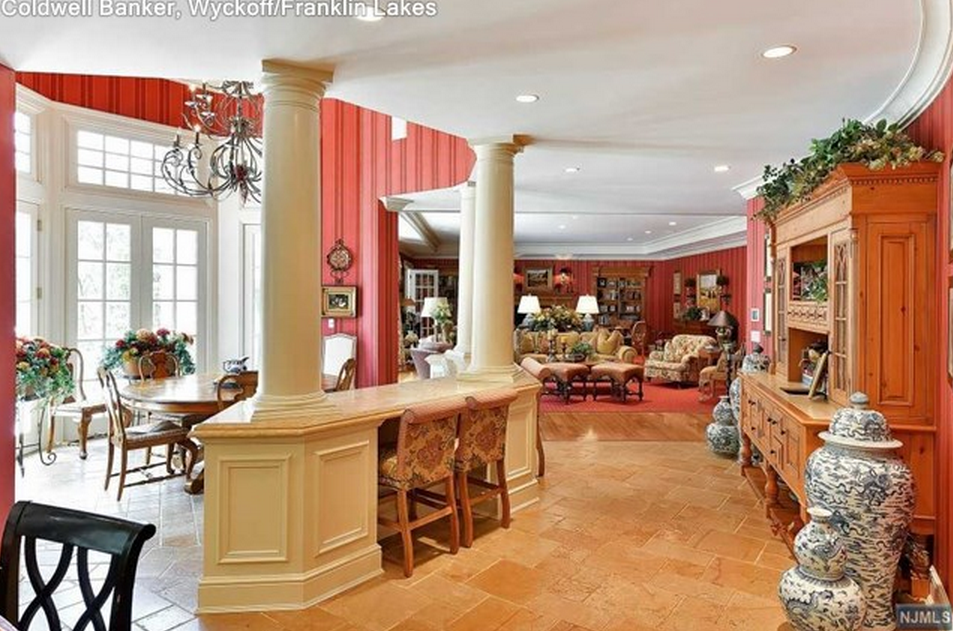 12 000 Square Foot Stone Amp Shingle Mansion In Franklin