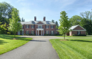 $4.395 Million Georgian Style Brick Mansion In Far Hills, NJ