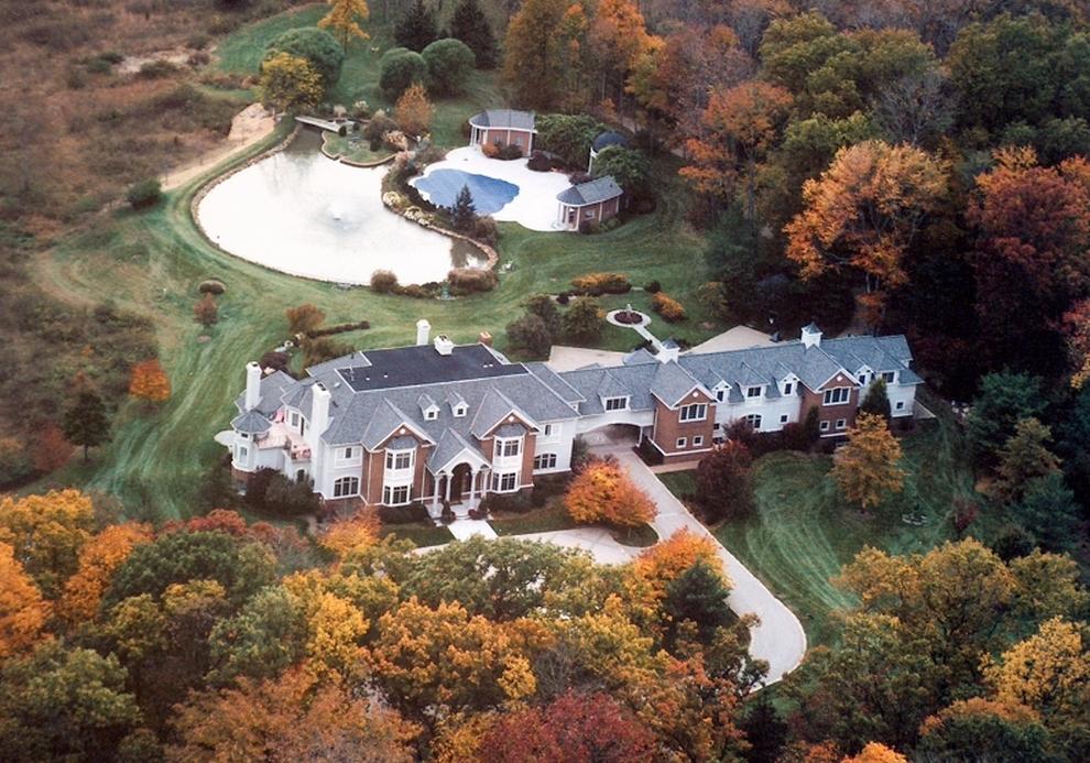 $4.399 Million Colonial Mansion In Bernards Township, NJ