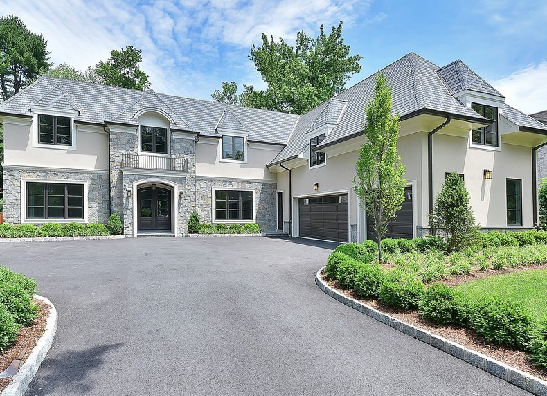 2 895 Million Newly Built Stone Amp Stucco Home In Tenafly