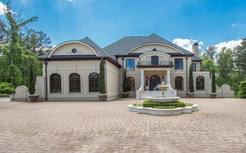 Mediterranean Mansion In Acworth, GA For Under $1.4 Million!