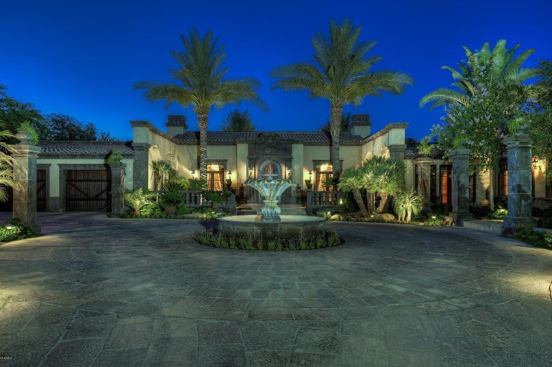 $6.5 Million Tuscan Inspired Mansion In Paradise Valley, AZ