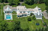 13,000 Square Foot Colonial Mansion In New Canaan, CT