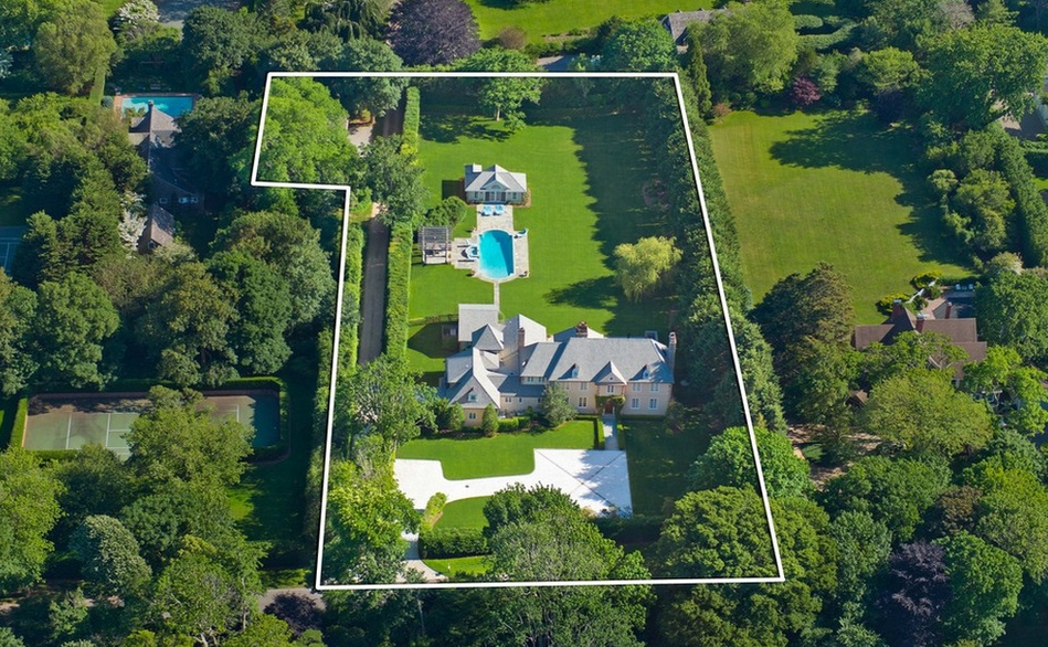 $13.5 Million French Country Mansion In Southampton, NY