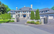 18,000 Square Foot Stone Mansion In Mississauga, Canada