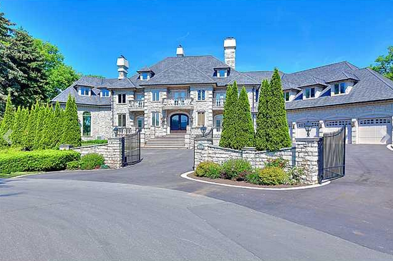 18 000 Square Foot Stone Mansion In Mississauga Canada