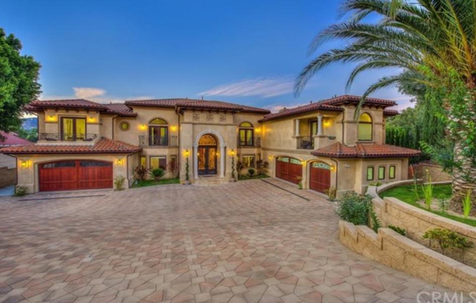 $4.488 Million Newly Built Mediterranean Mansion In Orange, CA