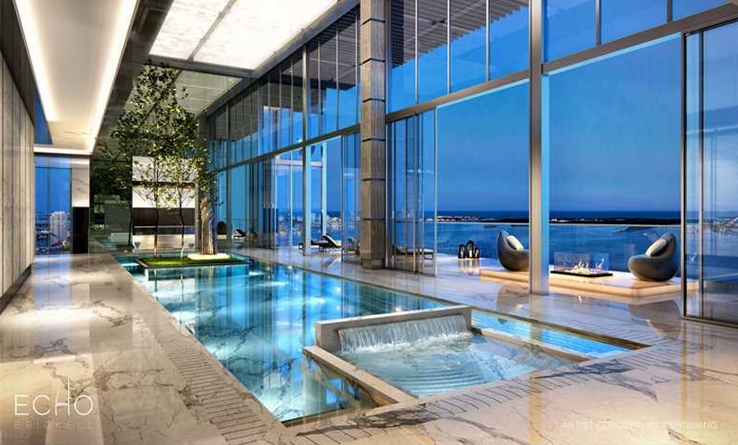 $41.8 Million Duplex Penthouse To Be Built At Echo Brickell In Miami, FL