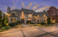 14,000 Square Foot European Inspired Stone Mansion In Charlotte, NC Re-Listed