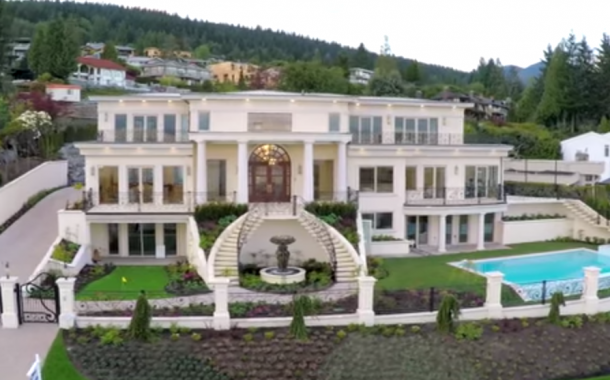 $11.8 Million Newly Built Mediterranean Mansion In West Vancouver, Canada