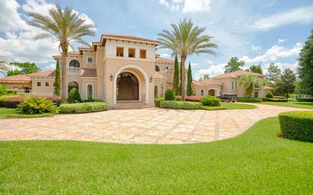 $2.6 Million Mediterranean Mansion In Sanford, FL