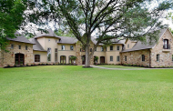 $2.749 Million Stone & Stucco Mansion In Sugar Land, TX