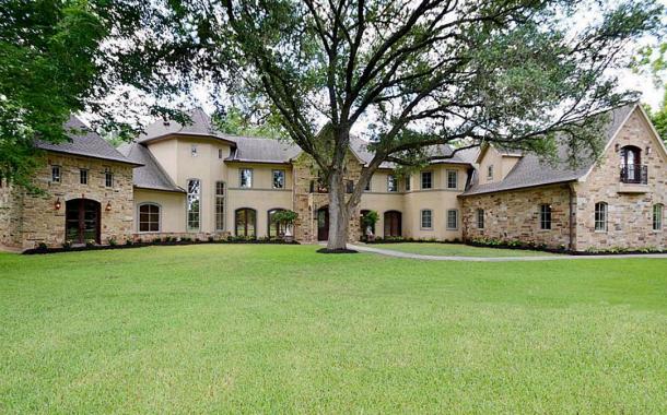 $2.749 Million Stone & Stucco Mansion In Sugar Land, TX