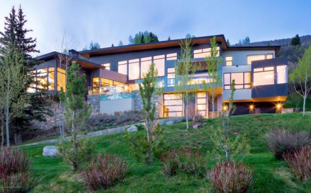$24.995 Million Contemporary Mansion In Aspen, CO