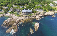 Incredible 14,000 Square Foot Contemporary Oceanfront Mansion In Swampscott, MA