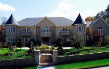 $12 Million 21,000 Square Foot Stone Mansion In Mahwah, NJ