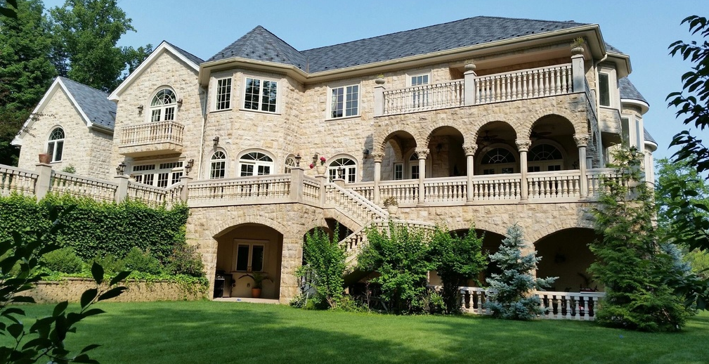 12 Million 21 000 Square Foot Stone Mansion In Mahwah Nj